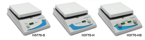 H3770 Series of Digital Hotplate Magnetic Stirrers from Benchmark Scientific