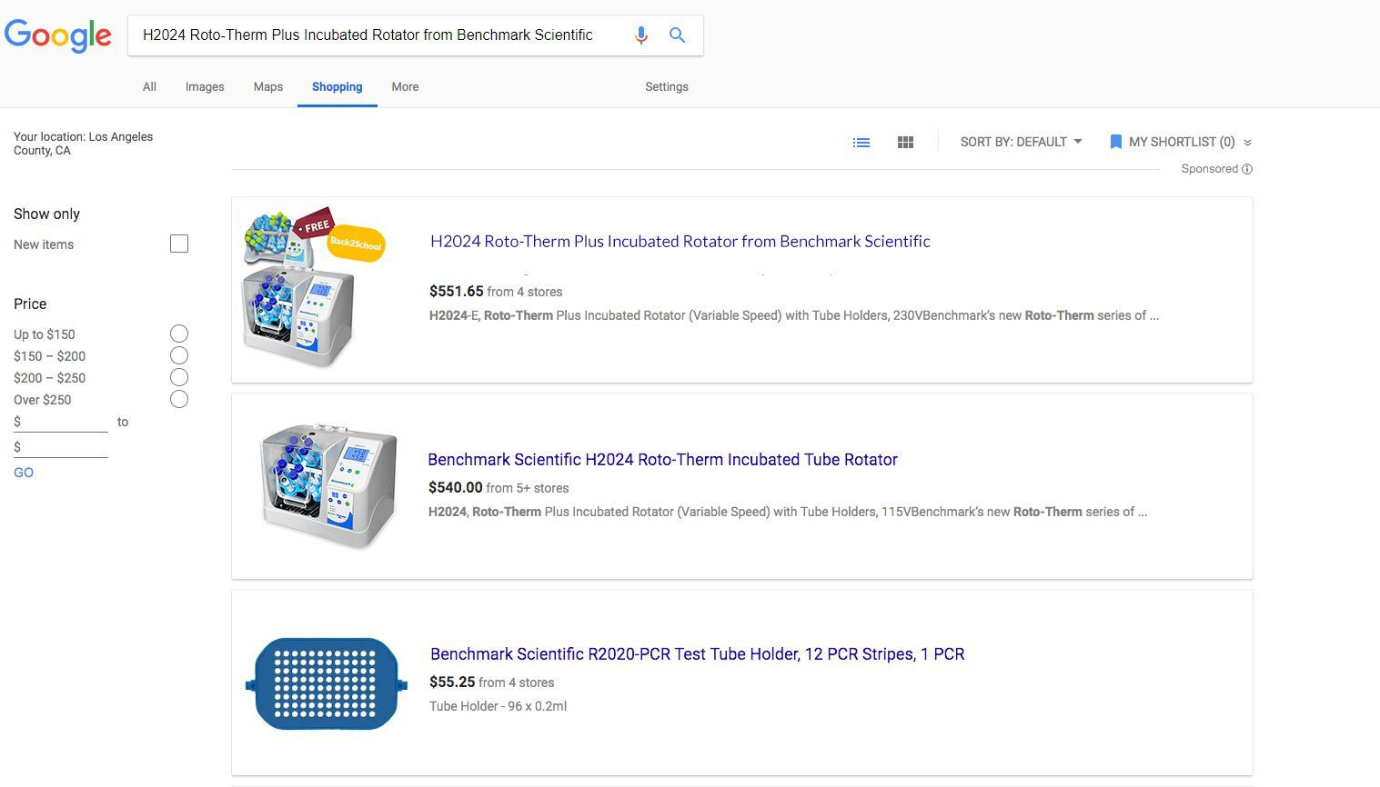 Back-to-School Budget Savers Promo Google Shopping