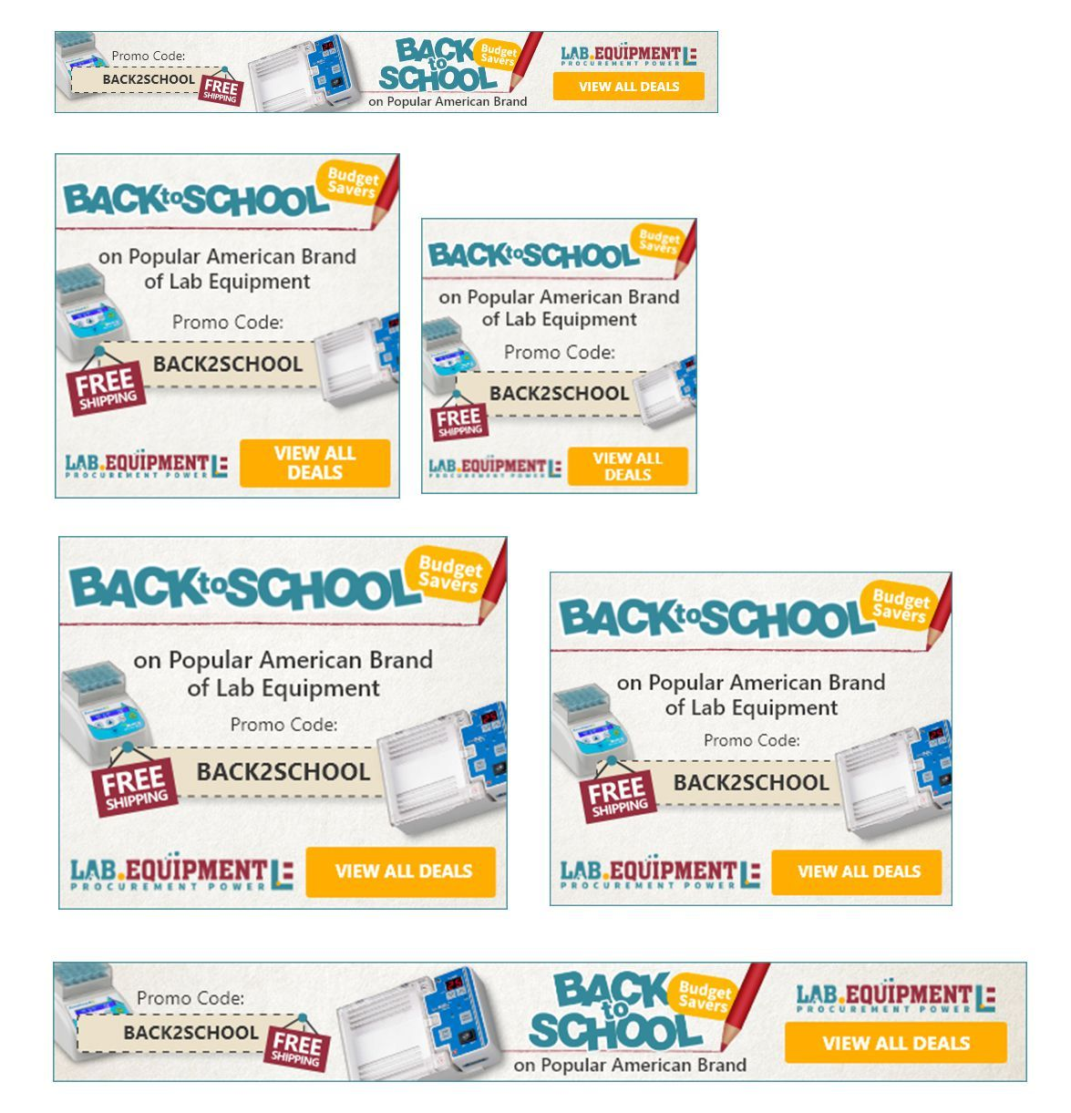 Back-to-School Budget Savers Promo GDN