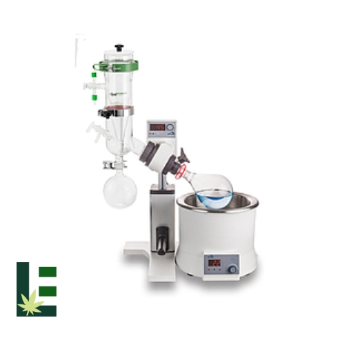 Cannabis Rotary Evaporator RE100-S Dry-Ice Condenser, Manual Lift from Scilogex