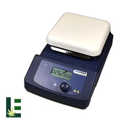 Cannabis Digital Hotplate Stirrer HP380-PRO LCD from Scilogex Image