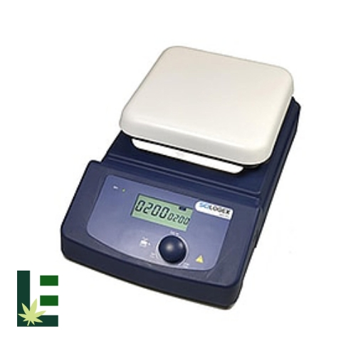 Cannabis Digital Magnetic Stirrer MS6-PRO LCD from Scilogex Image