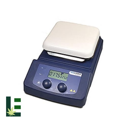 Cannabis Digital Hotplate Stirrer MS-H380-PRO LCD from Scilogex Image