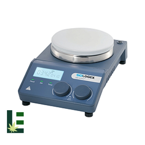 Cannabis Digital Hotplate Stirrer MS-H-PRO-T LCD from Scilogex