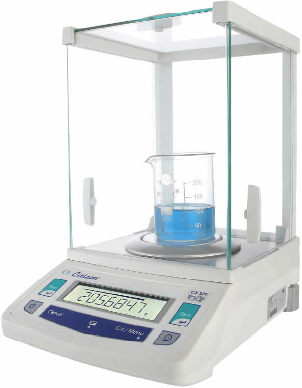 CX 220A Analytical Balance from Aczet Image