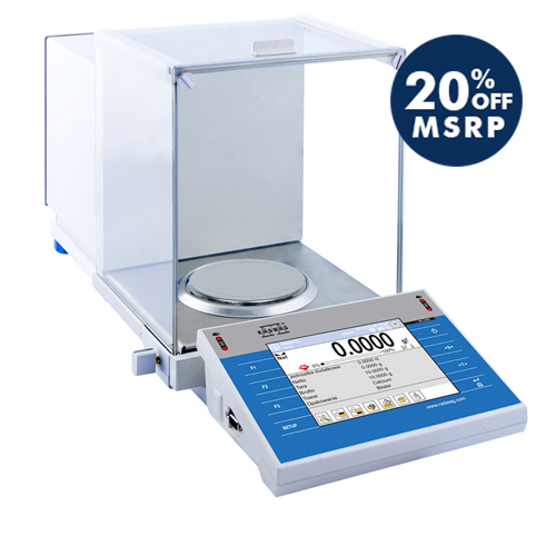 XA 220.4Y.A Analytical Balance from Radwag Image