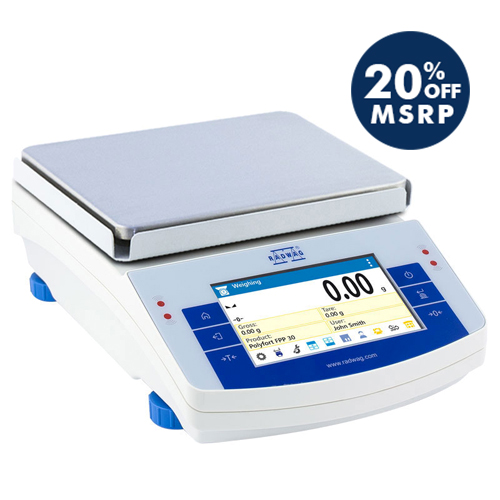 PS 10100.X2 Precision Balance from Radwag Image