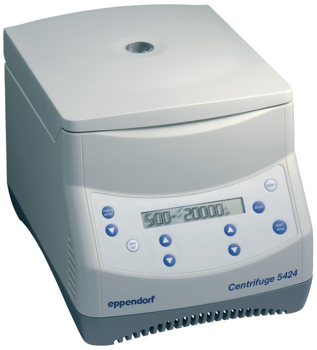 5424 MicroCentrifuge from Eppendorf Image