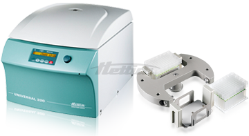 Universal 320 Plate Package Centrifuge from Hettich