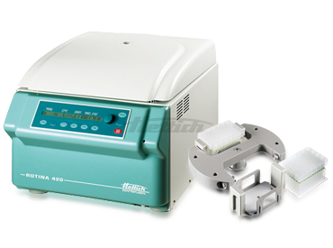 Rotina 420 Plate Package Centrifuge from Hettich Image