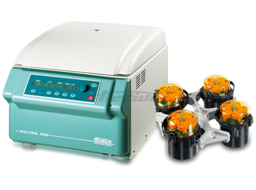 Rotina 420R Cell Culture Package 4 BC Centrifuge from Hettich Image