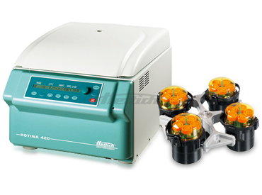 Rotina 420R Cell Culture Package 2 BC Centrifuge from Hettich Image