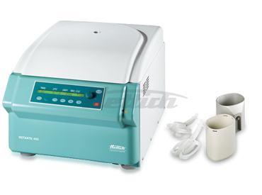 Rotanta 460 Blood Bag Package 4 Centrifuge from Hettich Image