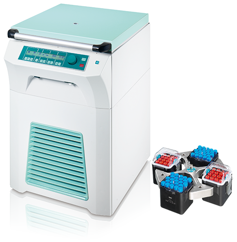 Rotixa 500 RS Cell Culture Package 4 BC Centrifuge from Hettich Image