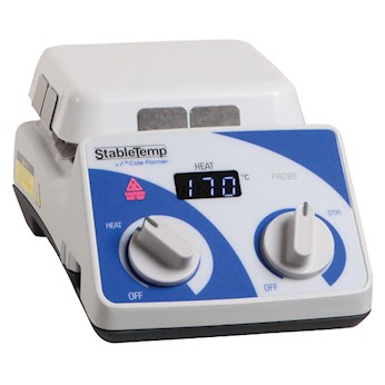 StableTemp Ceramic Top Stirring Hot Plate 4x4 from Cole-Parmer Image