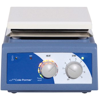 Advanced Stirring Hot Plate Ceramic 6x6 from Cole-Parmer