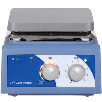 Advanced Stirring Hot Plate Aluminum 6x6 from Cole-Parmer Image