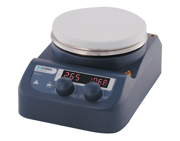 MS-H280-Pro LED Circular-top LED Digital Hotplate Stirrer from Scilogex