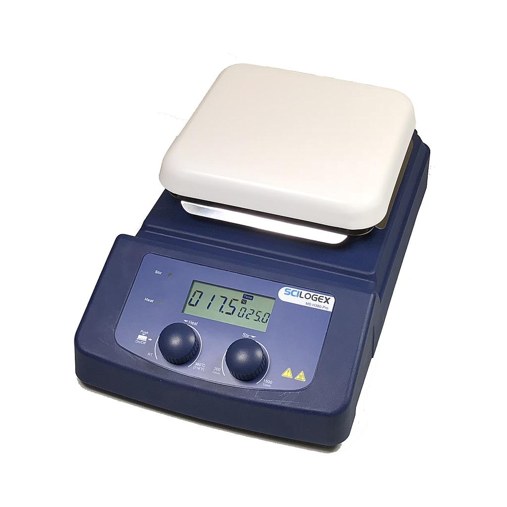 MS-H380-Pro LCD Magnetic Hotplate Stirrer from Scilogex