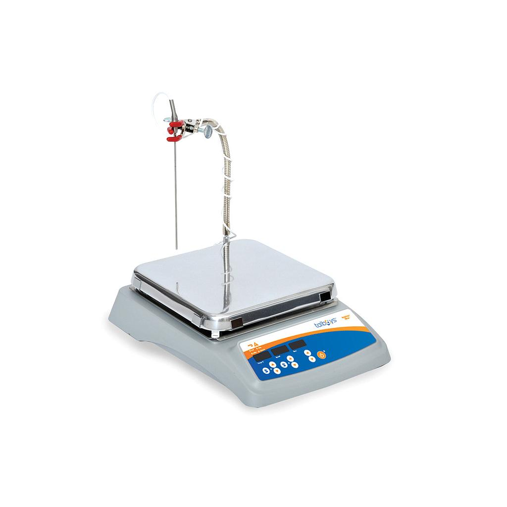 10 x 10 Professional Aluminum Top Hotplate-Stirrer with NIST Traceable Certificate from Troemner