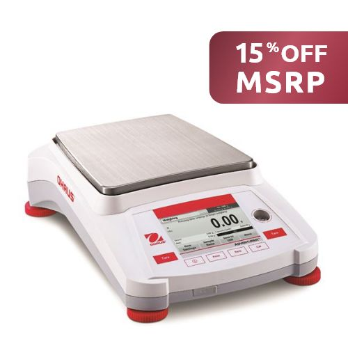 Adventurer AX1502 Precision Scale from Ohaus Image