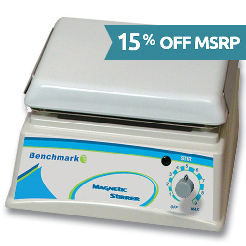 H4000-S Analog Magnetic Stirrer from Benchmark Scientific Image
