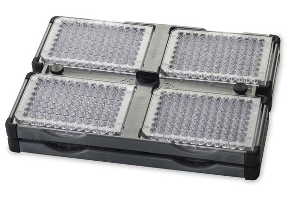4 Place Stackable Microplate Holder from Ohaus