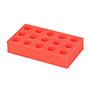 50 mL Tube Rack (Red) from Ohaus