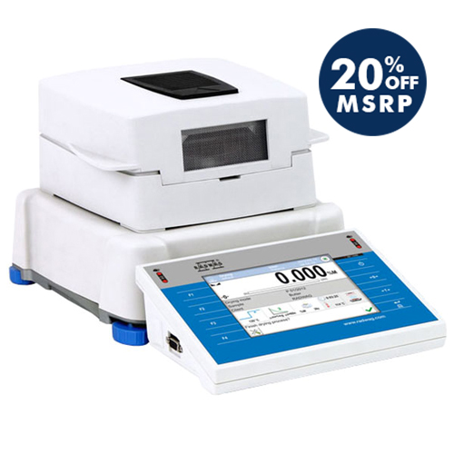 MA 200.3Y Moisture Analyzer from Radwag
