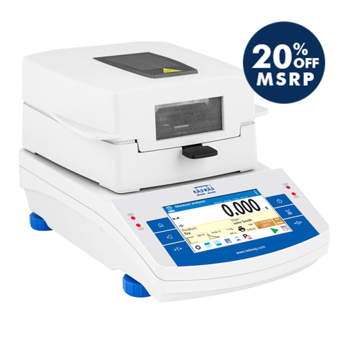 MA 50/1.X2.A Moisture Analyzer from Radwag