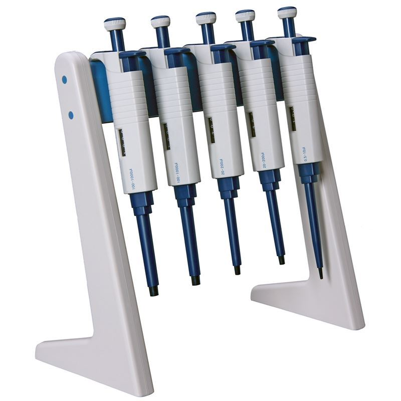 Linear Pipettor Stand, holds 6 MicroPette Pipettors from Scilogex