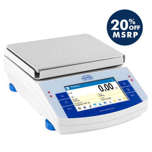 PS 10100.X2.M Precision Balance from Radwag Image