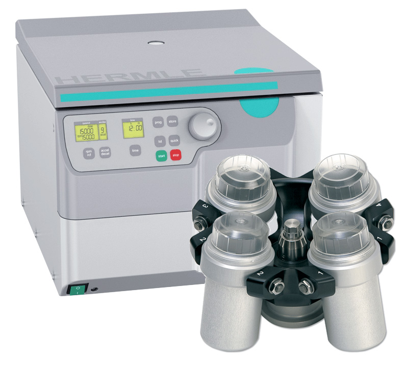 Z326-K Universal Centrifuge Bundle with BenchPACK from Hermle Image