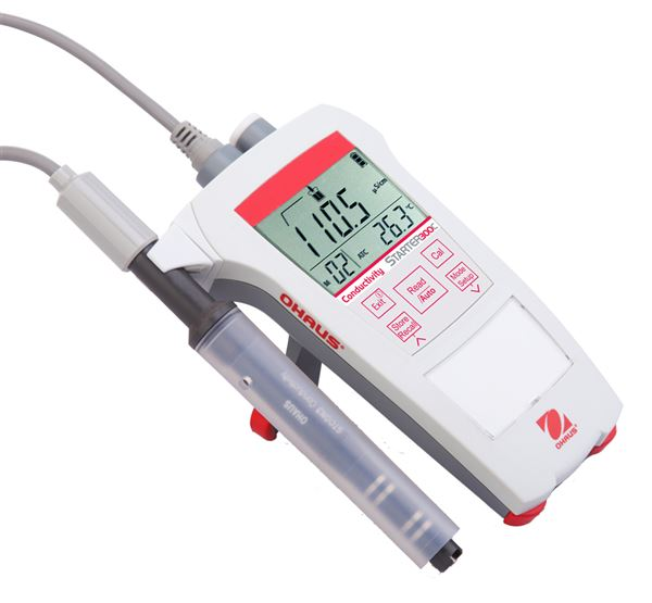 ST300C-B Starter 300C Portable Conductivity Meter from Ohaus