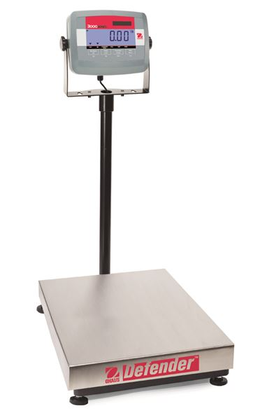 D31P60BL Defender 3000 Bench Scale from Ohaus Image
