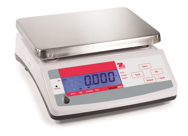 V11P6T Valor 1000 Bench Scale from Ohaus Image