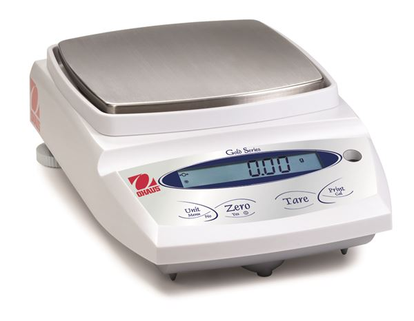 PAJ812N Gold Jewelry Scale from Ohaus