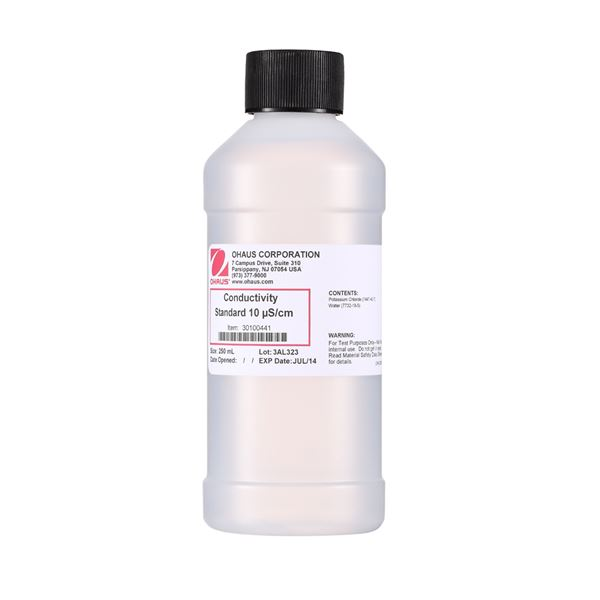 Standard Conduct 10µs/cm 250ml from Ohaus