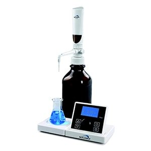 iTrite Electronic Digital Motorized Bottletop Burette from Scilogex