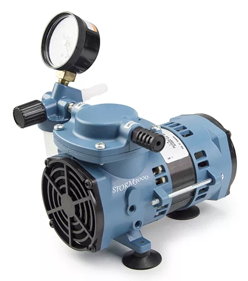 STORM3000 Economical Chemical Resistant Diaphragm Vacuum Pump from Scilogex