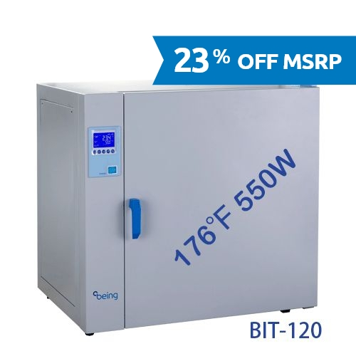 BIT-120 Natural Convection Heating Incubator from Being Instruments