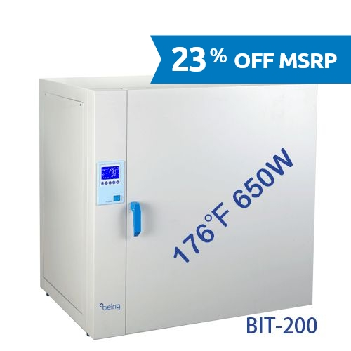 BIT-200 Natural Convection Heating Incubator from Being Instruments