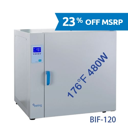 BIF-120 Mechanical Convection Incubator from Being Instruments Image
