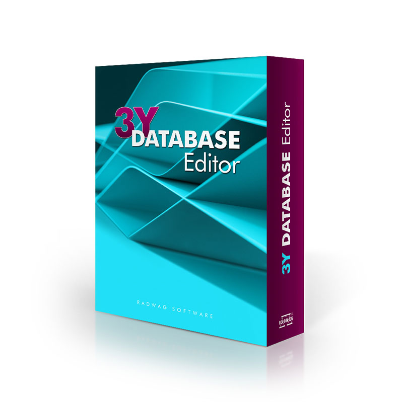 3Y DATABASE EDITOR PC SOFTWARE from Radwag