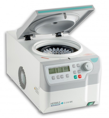 Z216-MK Refrigerated Microcentrifuge w/ COMBI-rotor from Hermle